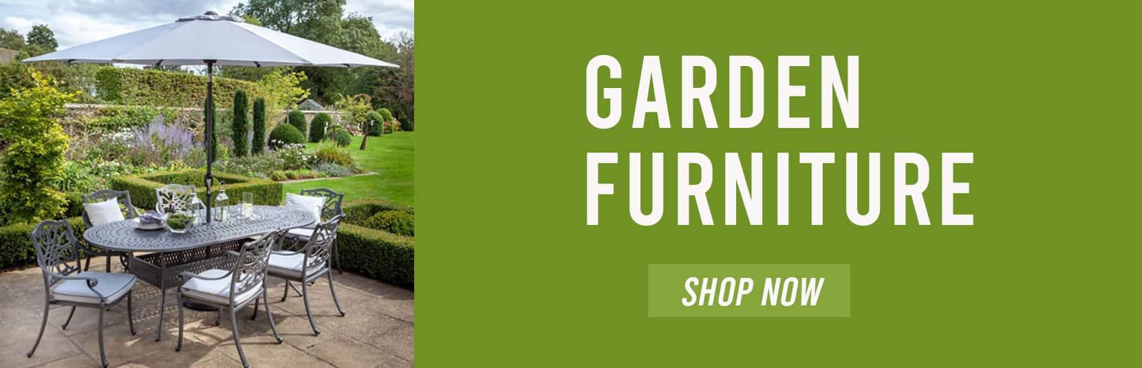 Garden furniture Banner