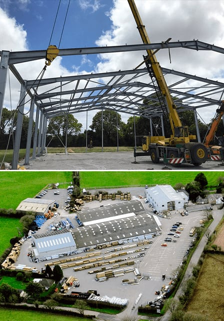 Griggs New Warehouse Construction